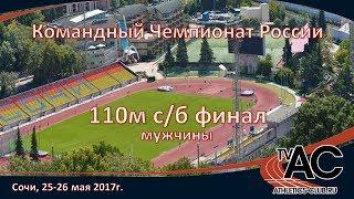 110м с/б - финал мужчины