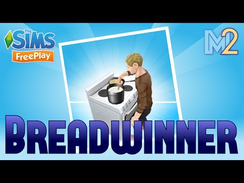 Sims FreePlay - Breadwinner Cooking Quest with Ron Weasley (Lets Play Ep 2)