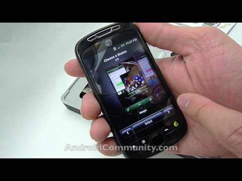 t-mobile mytouch 3g slide unboxing hands-on