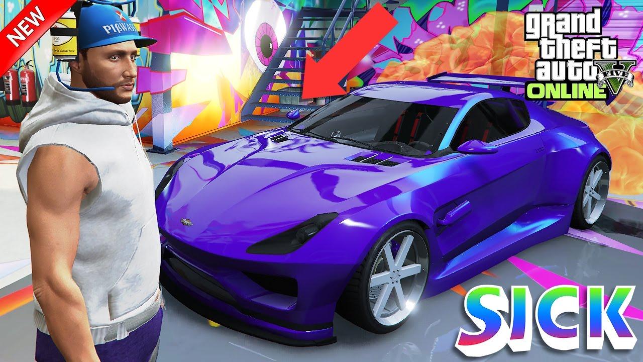 GTA 5 Online - Rare Paint Job Imrzindigo! Dewbauchee Specter Custom Modded  Crew Color! (GTA Online)