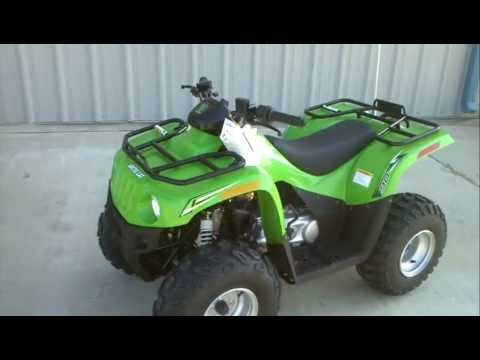 Review: 2012 Arctic Cat 90 Youth ATV with reverse!
