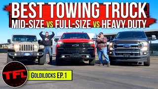 Small vs Medium vs Large Pickup: What's The Best Size Truck For You - Goldilocks Ep.1