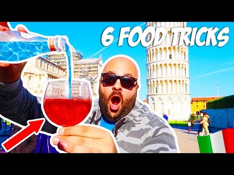 6 Food Magic Tricks Anyone Can Do