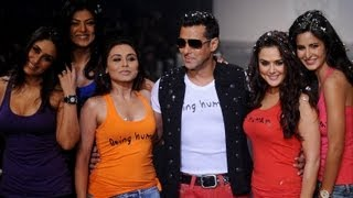 Being Human Salman Khan Fashion Show B-Town Divas