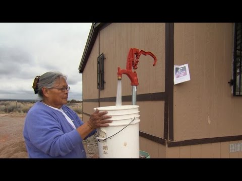 The Navajo Water Lady