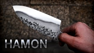 Knife Making: Hamon On High Carbon Steel