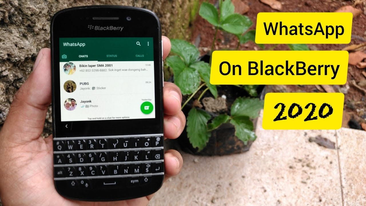 whatsapp for blackberry z3 free download 2018