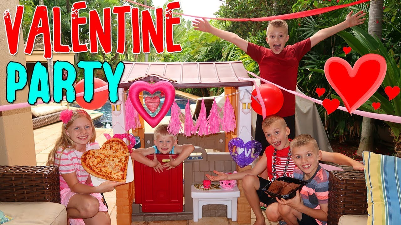 Kids Valentine S Day Party Skit Youtube