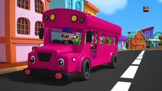 Колеса на автобусе | детского стишка | Baby Bao Panda Songs | Rhyme For Kids | Wheels on the Bus