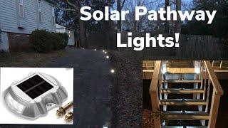Gambar cover JACKYLED Solar lights Review Weatherproof Walkway Dock Driveway Solar Light  For Street