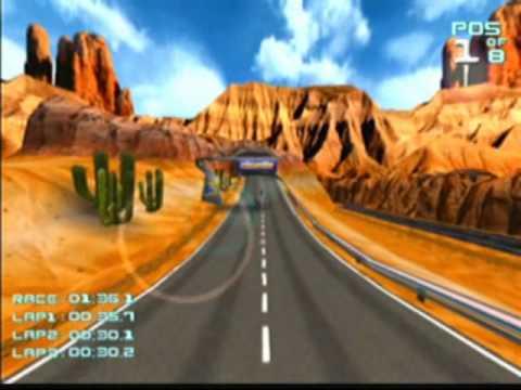 Suzuki Alstare Extreme Racing Game Sample - Dreamcast