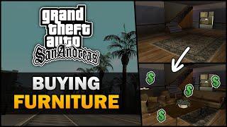 GTA SA - Buying Furniture [Cut Feature] [Beta Analysis] - Feat. SWEGTA