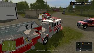 Farming Simulator 2017 Fire Response!!
