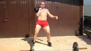d lineman training part 3 clean kb 40 kg p zorzi workout