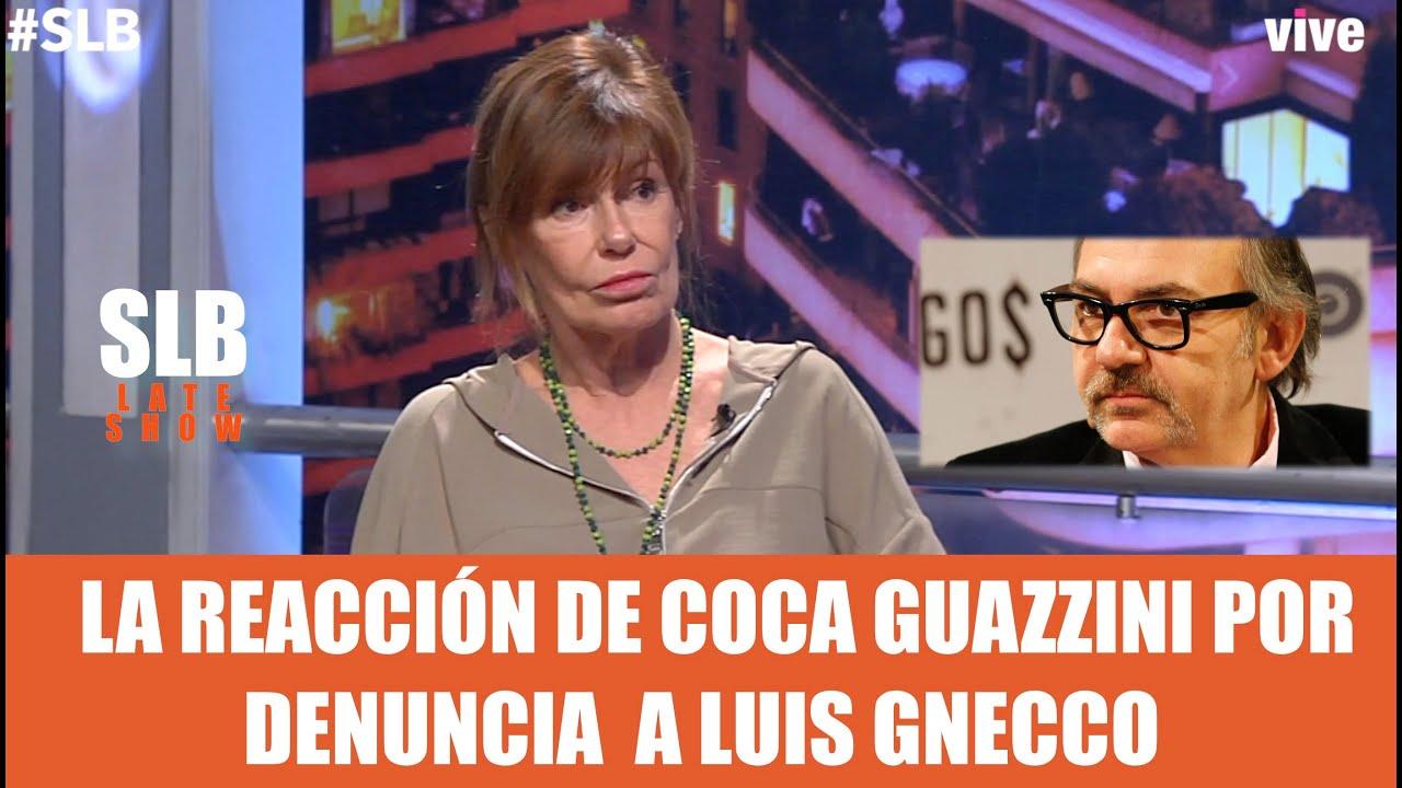 """SLB. Coca Guazzini sobre Luis Gnecco:  """"Se le da demasiada importancia"""""""