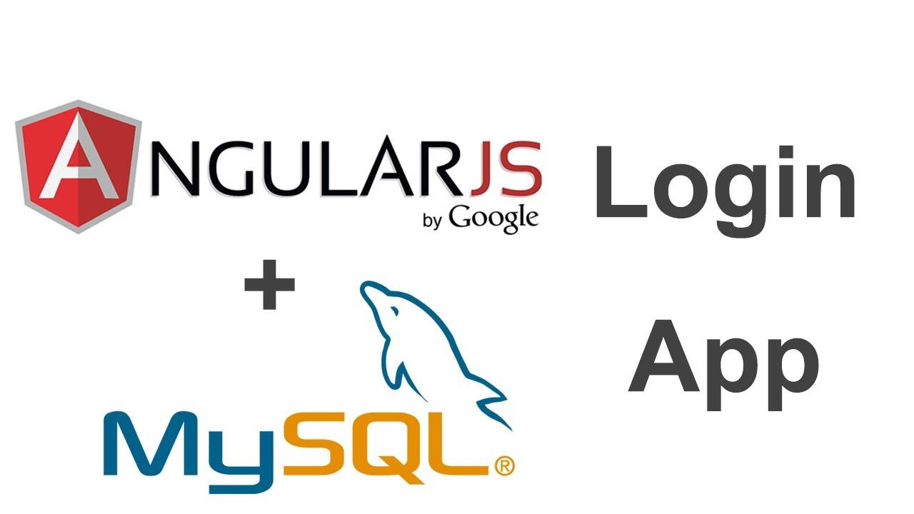 AngularJS + MySQL Login App Part 1 – 2uts