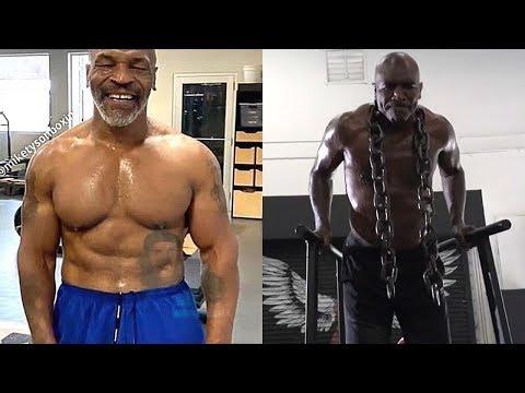 [2020] Тренировка Майка Тайсона и Эвандера Холифилда! Нереальная форма/ Training Motivation!