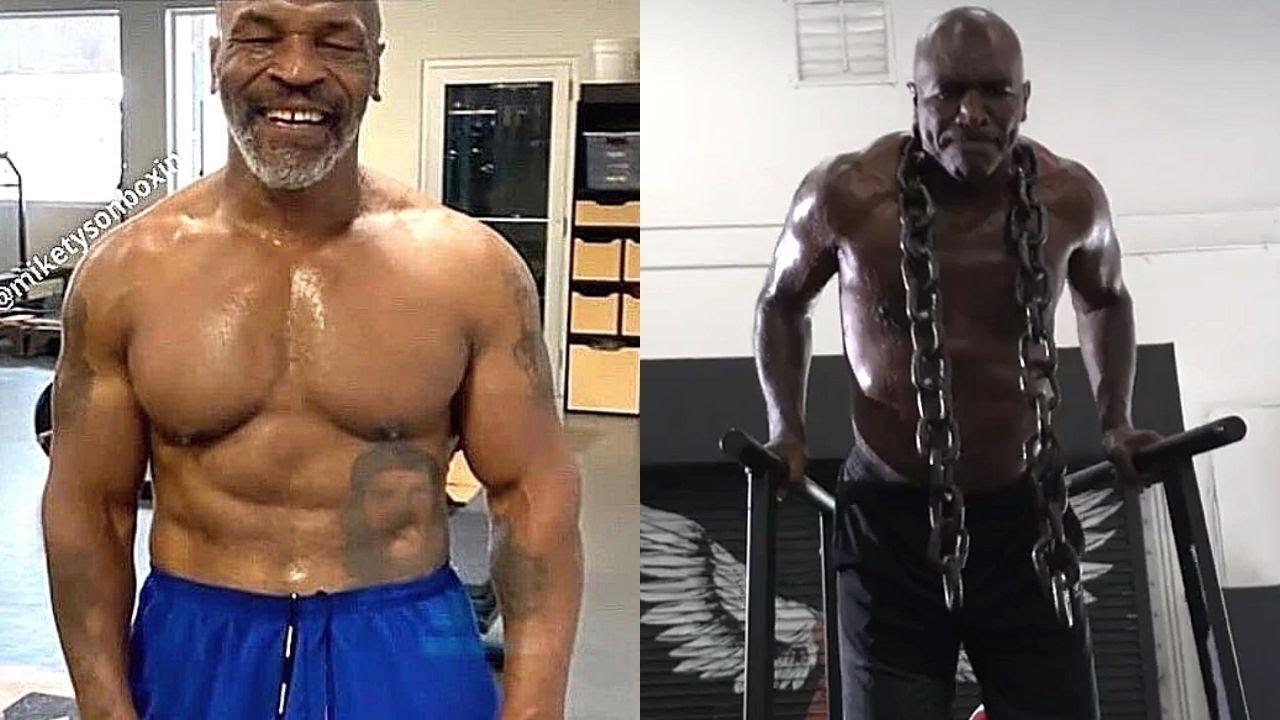 Тренировка Майка Тайсона и Эвандера Холифилда! Нереальная форма/ Training Motivation! 2020