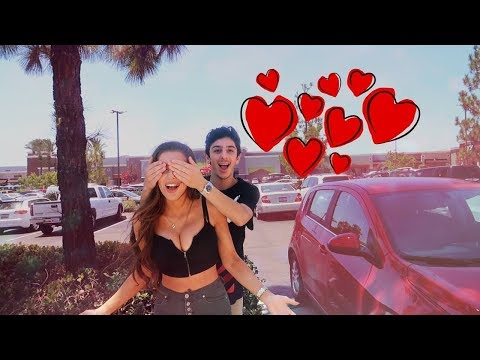 SURPRISING MOLLY FOR OUR FIRST DATE!! *romantic*