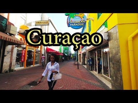Curacao Island - Walking the alleys - Willemstad  Aug 2017