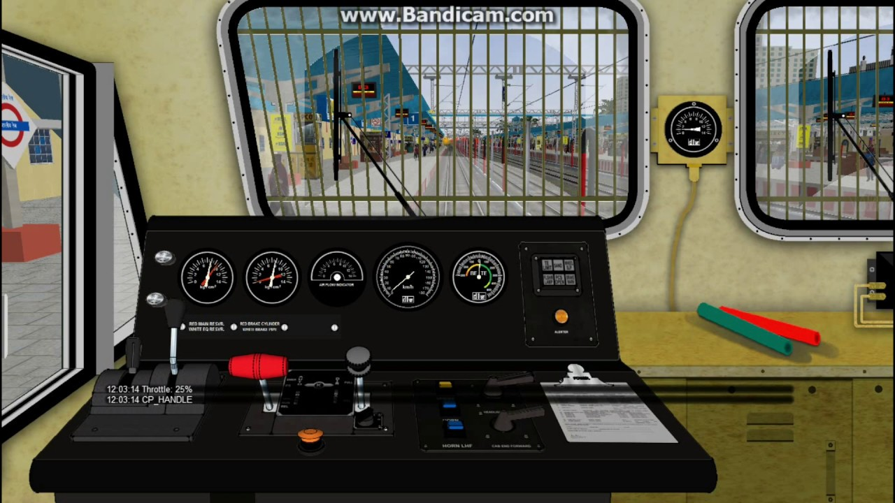 Newly Maded Emd Cabview Testing In Msts/Open Rails By Gurpreet Singh ||  Indrajit Swarnakar || IR ||