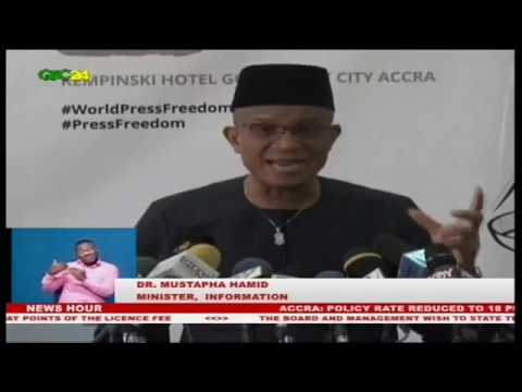 ACCRA:  WORLD PRESS FREEDOM DAY LAUNCHED