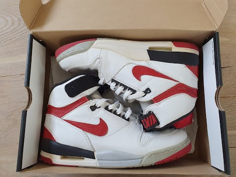 Retro NIKE Air Revolution White   Red 2007