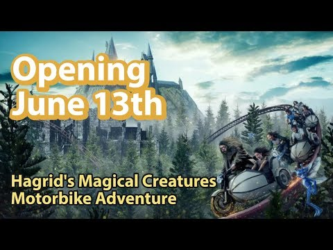 New Potter Coaster Named & Opening Date Set | Jurassic Coaster Update Too | How To Train Your Dragon