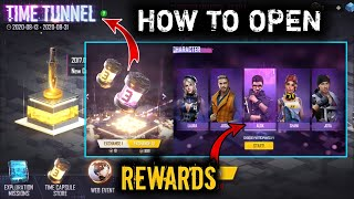 How to Open Time Tunnel Event In Free Fire 🔥 Free Fire New Events Details - FF 3rd Anniversary Event