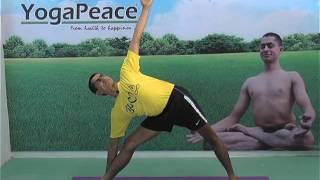 How to do Utthita Trikonasana (Extended Triangle Pose)   Benefits of  Utthita Trikonasana
