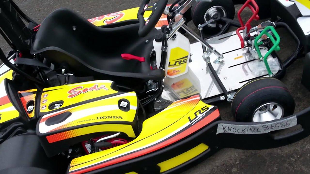 Summer Karting at Knockhill in our Sodi LR5 Kids Karts - YouTube