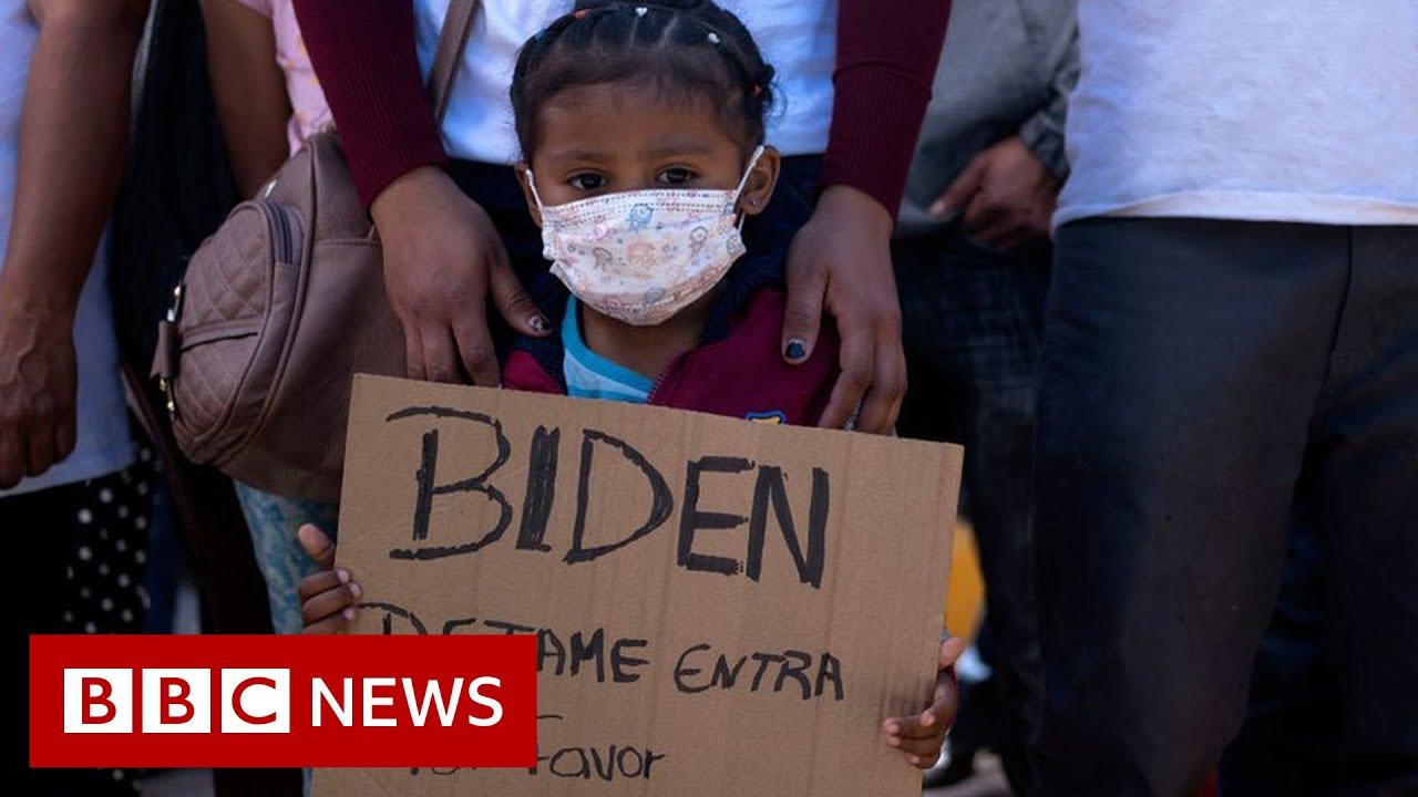 The challenge facing Joe Biden at the US-Mexico border - BBC News