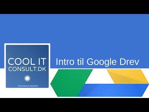 Intro til Google Drev