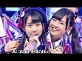 【Full HD 60fps】 HKT48 桜、みんなで食べた (2014.02.14 LIVE Mステ初登場)