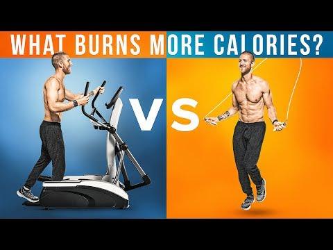 Jump Rope Vs. Elliptical: What Burns More Calories?