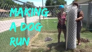 Video Building A Dog Run For These Crazy Dogs download MP3, 3GP, MP4, WEBM, AVI, FLV November 2017