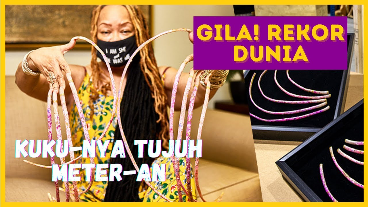 Download REKOR GILA! MANUSIA DENGAN BAGIAN TUBUH TERPANJANG