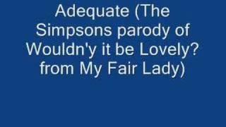 The Simpsons - Adequate