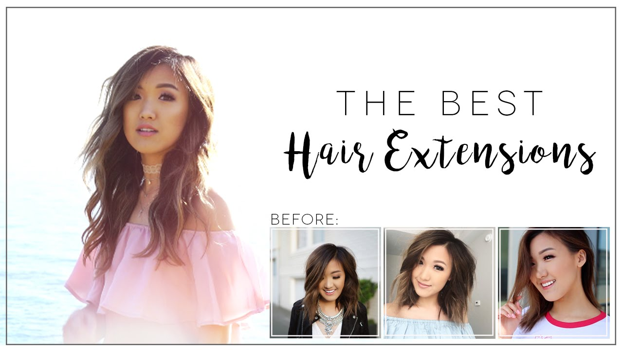 The Best Hair Extensions Review Tutorial Ilikeweylie Youtube