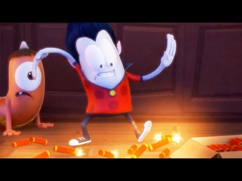 Funny Animated Cartoon  Spookiz  🔥Cula Sets The House On Fire🔥  스푸키즈  Cartoon For Children