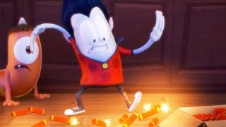 Funny Animated Cartoon | Spookiz | 🔥Cula Sets The House On Fire🔥 | 스푸키즈 | Cartoon For Children