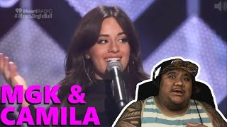 camila cabello ft machine gun kelly bad things live music reaction