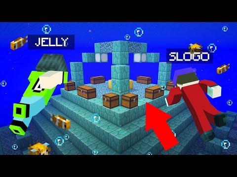 We Found TREASURES In ATLANTIS! (Minecraft)
