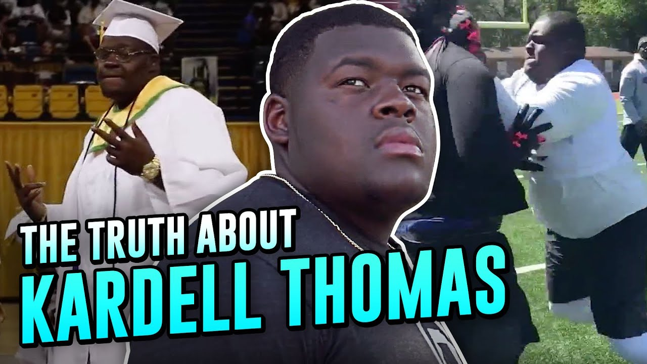 """""""The Nastiest Lineman Of His GENERATION!"""" How LSU's Kardell Thomas Became A VIRAL SENSATION!"""