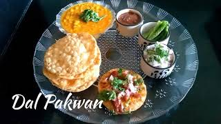 Delicious Recipes # 18 | Dal Pakwan | Sindhi Breakfast Recipe