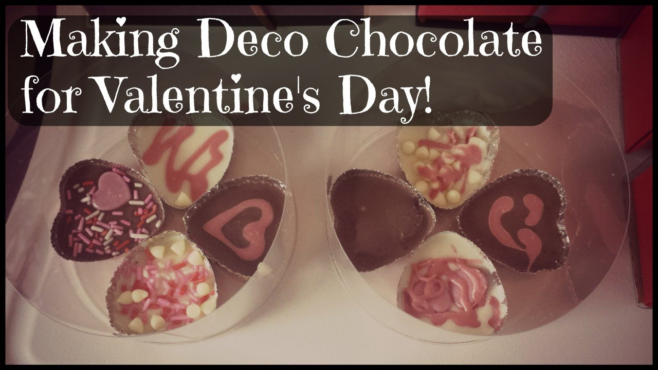 Making Japanese Deco Chocolate Valentine S Day Special Youtube