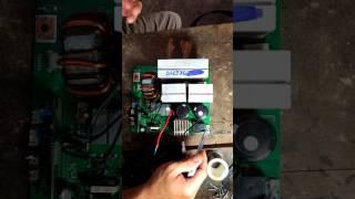 Sửa máy hàn điện tử mất nguồn Khối nguồn