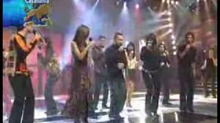 Academia OT 2002 Con Diego Torres - Color Esperanza (OT 2002 Gala 10, 16/12/02)