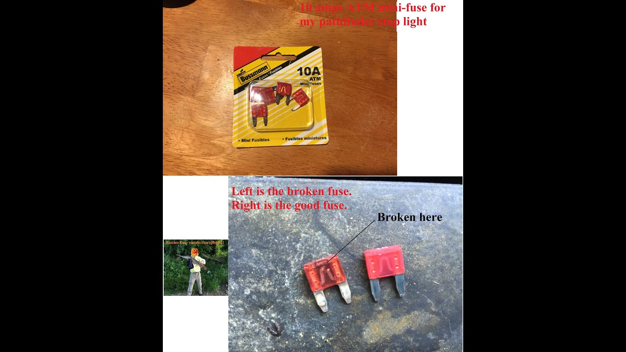 Pathfinder Tail And Stop Light Fixed Youtube 1994 Fuse Diagram