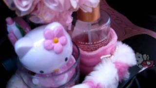 whats in my CAR - A Hello Kitty Interior inspired